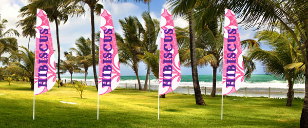 Resort Feather Flag