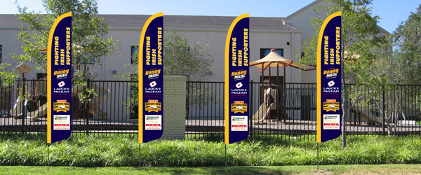 School SunBlade Flags